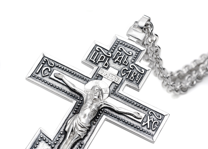 Крест наперсный К-10 - 6